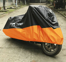 XXXXL Waterproof Motorcycle Cover For Harley Touring Electra Glide Ultra Classic