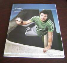 Catalogo Sony prodotti primavera estate 2007 depliant brochure tv home video