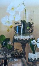 Glas Windlicht 17004 Deko Metall Kerze Teelicht  Tischdeko Antik Shabby Vintage