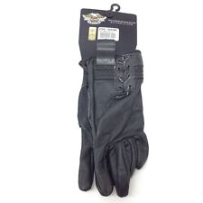 Harley-Davidson Women's Nylon Gloves with TouchTec Large 97316-13VW