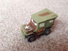 DISNEY/Pixar Cars 2 1942 WW2 Willy'S ARMY JEEP-SARGE