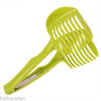 HP Plastic Tomato Slicer Cutter Lemon Orange Fruit Holder Kitchen Gadgets Tool