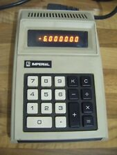 Imperial Litton IC 900 calculadora electrónica Vintage Made In Japan c1973-En funcionamiento