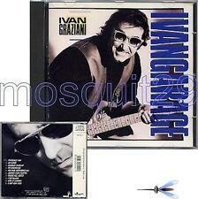 """IVAN GRAZIANI """"IVANGARAGE"""" RARO CD 1989 - SIGILLATO"""
