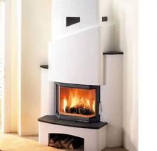 HAAS + sohn Kit de cheminée lyon-ii steinsims Ardoise Insert prestigeii 181.18