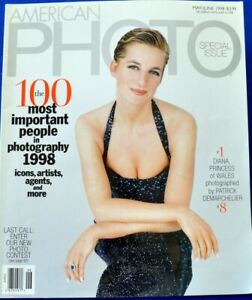 """American Photo May 1998. The 100 most important people in Photography """"Diana"""""""