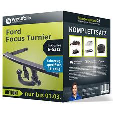 Anhängerkupplung WESTFALIA abnehmbar FORD Focus Turnier +Elektrosatz Kit NEU AHK