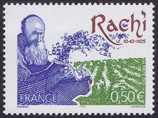 2005 FRANCE N°3746** Rachi, rabbin, commentateur Bible & Talmud, Rachi rabbi MNH