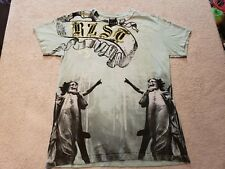 Resistance by RZST Men's Teal Virgin Mary Skull Graphic T-Shirt Tee Size small