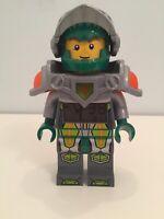 Lego Nexo Knights Aaron Alarm Clock lights up green! 9009426