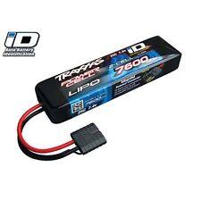 Traxxas TRA2869X Lipo Battery 25C 7.4V 2S 2Cell 7600mAh +ID Slash 4x4/2wd E-Revo