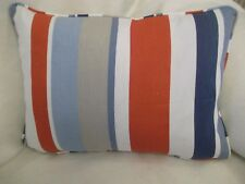 "JOHN LEWIS HARRISON STRIPE OBLONG CUSHION  20"" X 14 ""(51 CM X 36 CM) ZIP OFF"