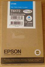 Genuine EPSON T6172 CIANO (Blu) CARTUCCIA INCHIOSTRO 100ml ORIGINALE XL B-500DN B-510DN