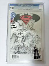 Cracked! BATMAN/SUPERMAN #8 CGC 9.8 - SKETCH COVER - 1ST APPEARANCE KARA ZOR-EL!