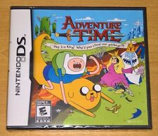 Adventure Time: Hey Ice King! Why'd You Steal Our Garbage?!! (Nintendo DS) NEW