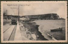 Campania. BAGNOLI, Napoli. Spiaggia e Coroglio. Cartolina viaggiata nel 1919