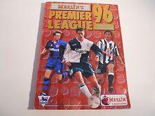 Merlin Premier League 96 álbum (aprox. 80% completo)