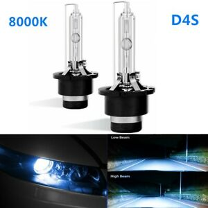 8000K D4S Headlights Replacement Bulb HID 2pc Fits Toyota Lexus IS250 IS350