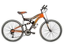 """Bicicletta MTB Full suspension GALANT 12 ragazzo 26"""" acciaio cambio 18 V bike"""