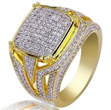 22K Yellow Gold 1.80Cts Real Diamond IGI Certified Brilliant Cut Men's Ring