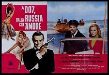 T102 FOTOBUSTA AGENTE 007 JAMES BOND DALLA RUSSIA CON AMORE CONNERY