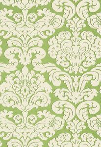 "9YD x 27""w THIBAUT T14219 Trelawny Green Imperial Garden Wallpaper $164Retail"