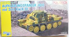 Dragon 1/35 Scale Plastic Kit German Aufklarungspanzer 38t mit 2cm KWK38 Tank