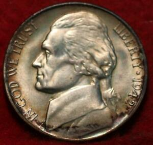 Uncirculated Toned 1942-S San Francisco Mint Silver Jefferson Nickel