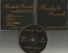 RACHELLE FERRELL Rare 5 TRX SAMPLER 2000 USA PROMO Radio DJ CD single