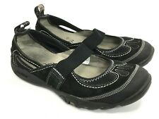 Merrell Cycletread Mimosa Women's Size 8 Black Mary Jane Suede Slip on Shoes