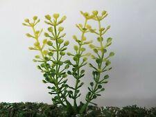1 boccole in miniatura arbusto pianta marrone viola lascia Doll House da giardino modello A3