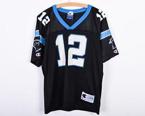 Carolina Panthers Jersey #12 KERRY COLLINS Champion Youth L KIDS 14 16 Shirt NFL