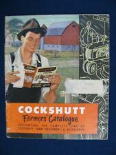 1952 Cockshutt Full Line Farmers Catalog 20 30 40 Tractor Combine Farm Equipment