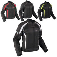 Ladies Textile Jacket Motorcycle Motorbike Armour CE Breathable Summer