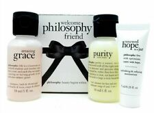 Welcome Philosophy Friend Set Hope in a Jar Purity Made Simple Amazing Grace