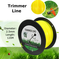 2.5mm x 120m Trimmer Line Whipper Snipper Cord Wire Brush Cutter Brushcutter AU