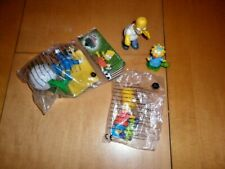 Collectible The Simpsons Fast Food Toys Burger King (Bagged) + Two Others