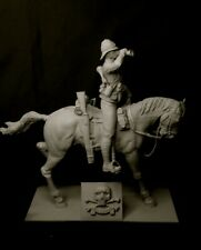 1/10th scale 17th Lancers Sounding the Charge Boer War. Resin kit Height  240mm