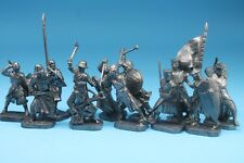 Tin toy crusade knights 12 figures soldier 40 mm exclusive for collection