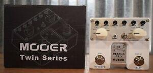 Mooer Audio TDL1 Twin Series Reecho Pro Multi Delay Guitar Effect Pedal