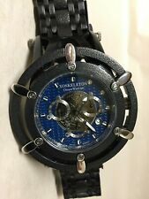 RARE 1st Run XOSkeleton Ocean Warrior 904L Stainless Steel Watch LN