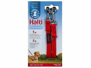 Halti Double Ended Training Dog Puppy Lead/Leash Red