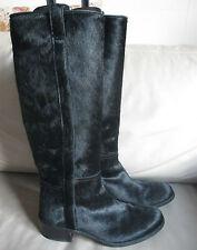 Wunderschöne Stiefel BUTTERO, Gr. 38, schwarz, Fell