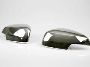 For Jaguar X-type 08 XF X358 Chrome Mirror Cover Door Mirrors