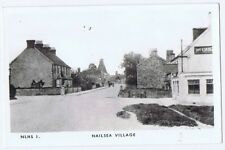 NAILSEA View in the Village (NLHS1) RP Postcard Unused