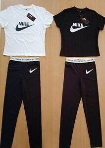Women's Nike Gym Suits, T-Shirt & Leggings Set. Keep fit/Gym/Excercise