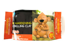 5 x 125g Air Hardening Modelling Clay AIR DRY CLAY Terracotta 125g Art Supply