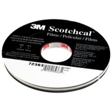 "3M 72363 Scotchcal Striping Tape, Charcoal Metallic, 5/16"" x 150'"