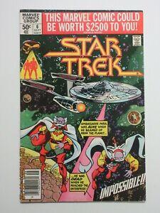 Star Trek #6 Marvel Comic Kirk Spock McCoy Scotty Enterprise Bronze Age