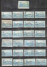 25 ARCTIC EXPLORATIONS #1128 Used U.S. 1959 Commemorative 4c Stamps